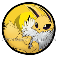 Jolteon by Gatodae