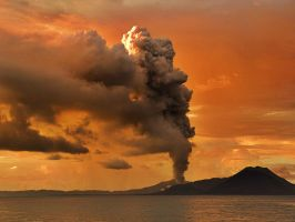 Volcano Fire by SottoPK