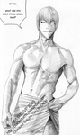 BLEACH: Ichimaru Gin -showers- by blackstorm