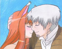 Spice and Wolf by kinxmizu