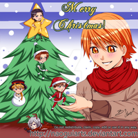 Skip beat Christmas tree by naoguiarts