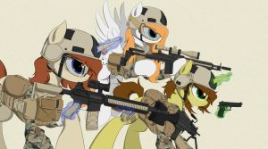 The Few, The Proud by EquestrianMarine