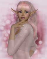 Pink Elf by CaperGirl42