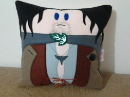 Handmade Lord of the Rings LOTR Aragorn Pillow by RbitencourtUSA