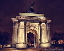 London, Park Lane Monument by lensworksphotography