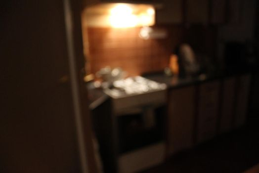 Kitchen bokeh by mathyrawr