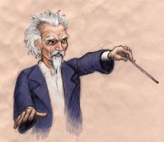 Conductor Sketch by jfarsenault