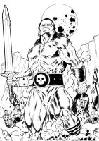 CONAN THE BARBARIAN by robertcheli