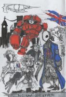New Britain - Sketch Card by HJTHX1138