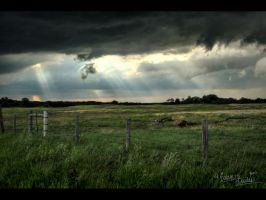 North Dakota Sunlight by FramedByNature