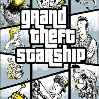 Grand Theft Starship : Heart of Gold by jimspon