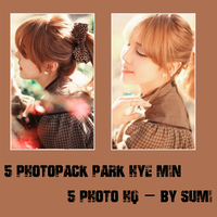 Photopack Park Hye Min #3 - By Sumi by Nari2k1
