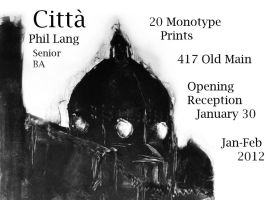 Monotype Show Card by Ageaus
