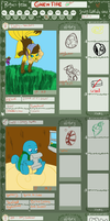 pmd drawing app greenfire *updated* by Ded-Fire-Dragon