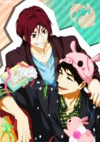 Happy birthday Sousuke! by LadyGT
