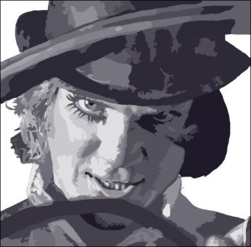 ClockWork Orange - Vector - xl by iamnophotographer