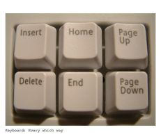 Keyboard: Every which way by badblokebob