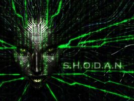 SHODAN : Wallpaper by SuicideNinja