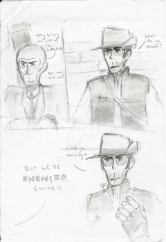 UnFinished-Noob Spyee n Pro Snoiper Page 1 by Watson-Holmes