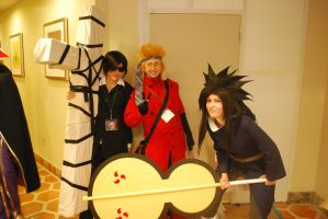 Madara Wolfwood and Vash by miss-a-r-t