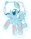 :G: Snowy by RainbowXShy