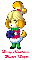 ACNL: Isabelle's Gift by NeroStreet