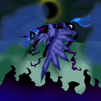 MLP I am a Nightmare by NightmareDerpy