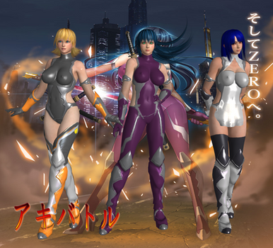 Taimanin Asagi Revised Preview 1 by SSPD077 by faytrobertson