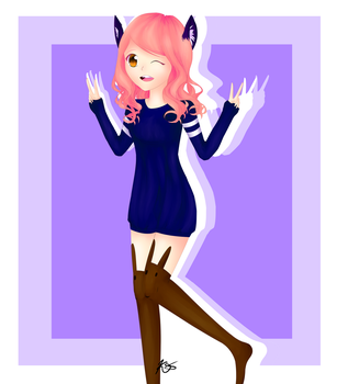 Raffle Prize- Nice and Simple by LazyRainbowUni