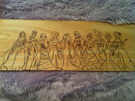 Disney Designer Collection Wood Burning by bonniea423