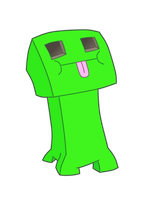 Minecraft - Creeper Face by H-Bong