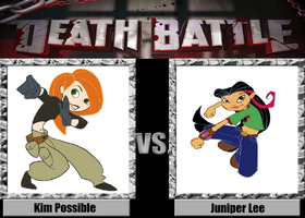 Death Battle Idea Kim Possible Vs Juniper Lee by PRS3245