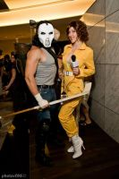 Casey Jones and April O'Neil 2 by megmurrderher