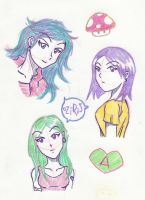 Color pencil doodle by thedybre