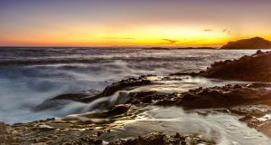 Laguna Beach sunset by sensHXC