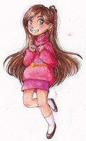 Art trade - Mabel Pines by violent-cat