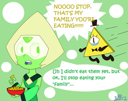 Peridot The Dorito Murderer by Strikerwott12