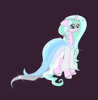 Gala Dress (Heart Wisp) by sparklyAxolotl