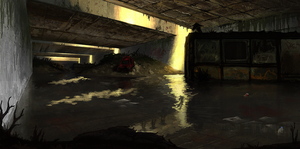 HL2 - End's river by Torqbow