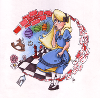 Alice's Wonderland by Violet--Gypsy