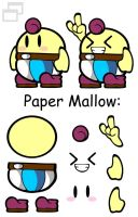 Paper Mallow by Slushy-man