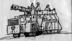 Imperial Guard HalfTrack by StugMeister