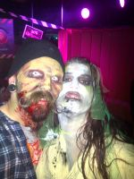 Halloween 2012 The Wife and I by mxw8