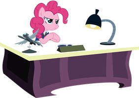 Pinkie Pie's Office by PinkiePizzles