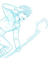 ROTG   Jack Frost Sketch by DivineImmortality