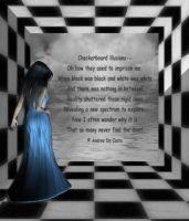 Checkerboard Illusions by Pieces-Of-My-Heart