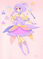 Galactic Magical Girl Adoptable {{CLOSED}} by Pyunenii