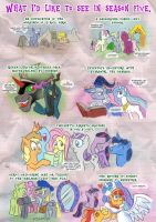 My little pony season 5 Wishes by henbe