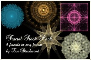 PNG fractal stock by EveBlackwood
