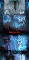 Frightmare Frost and King Sombra by ElkaArt